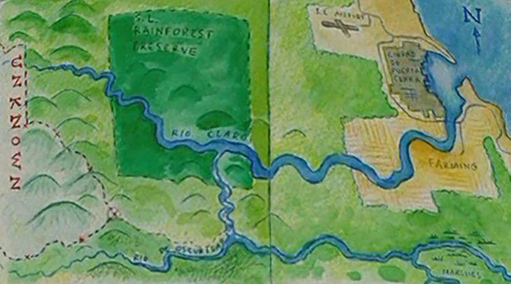 hey arnold mapa