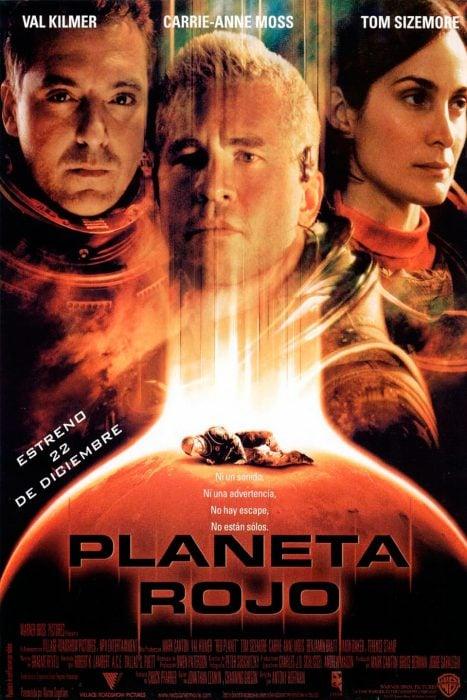 Cartel de Planeta Rojo