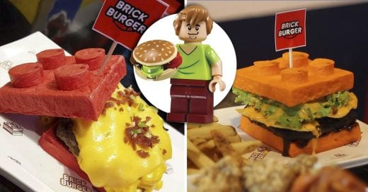brick legos burger