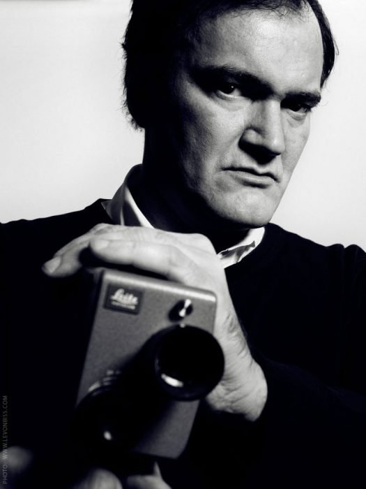 Quentin Tarantino con cámara