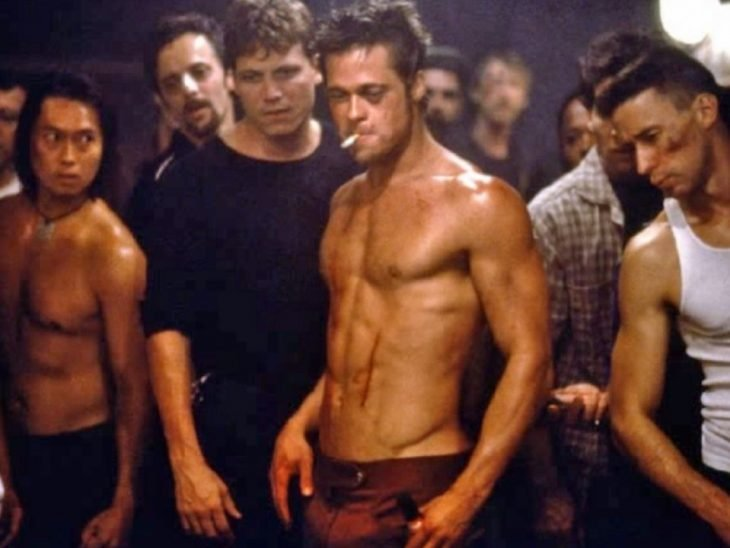 brad pit the fight club