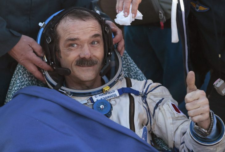 Chris Hadfield Astronauta