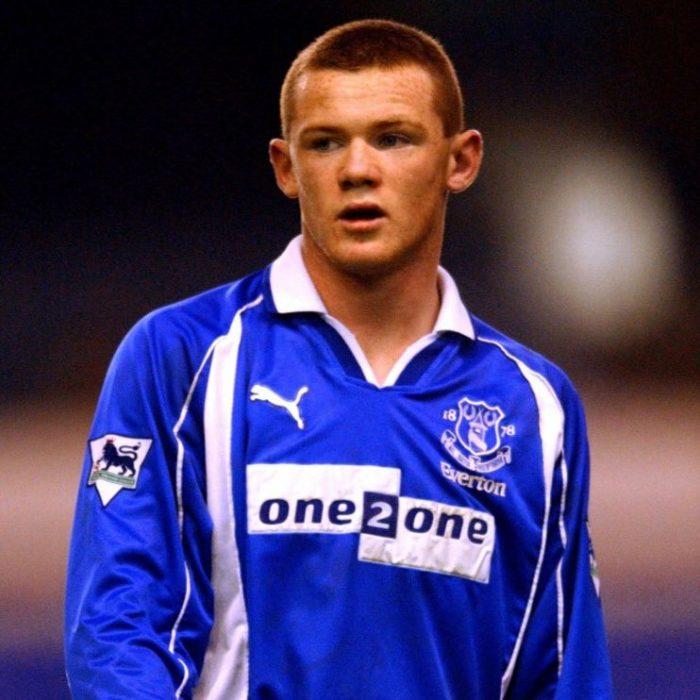 Wayne Rooney de joven