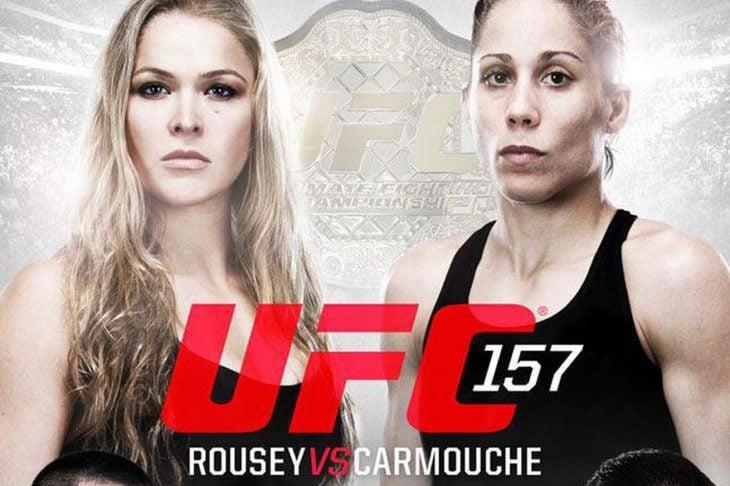 Ronda Rousey y Liz Carmouche