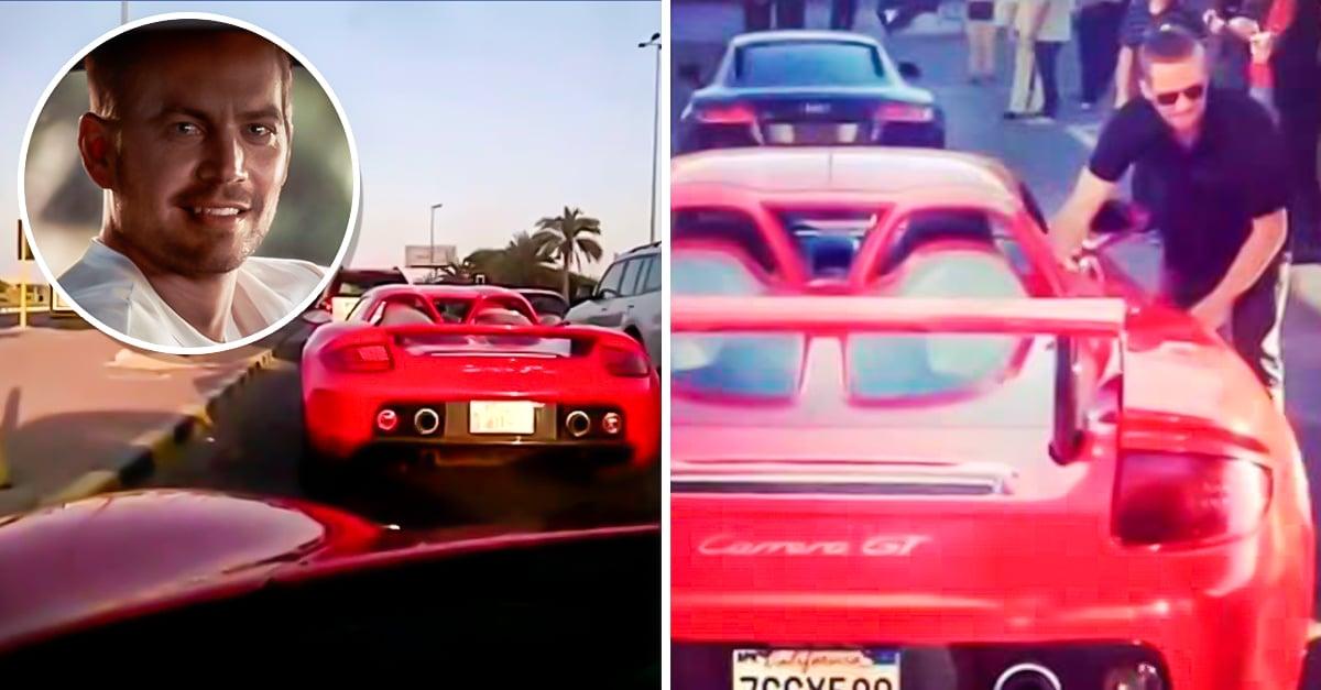Subasta De Autos >> Revelan video de Paul Walker 3 minutos antes de su muerte