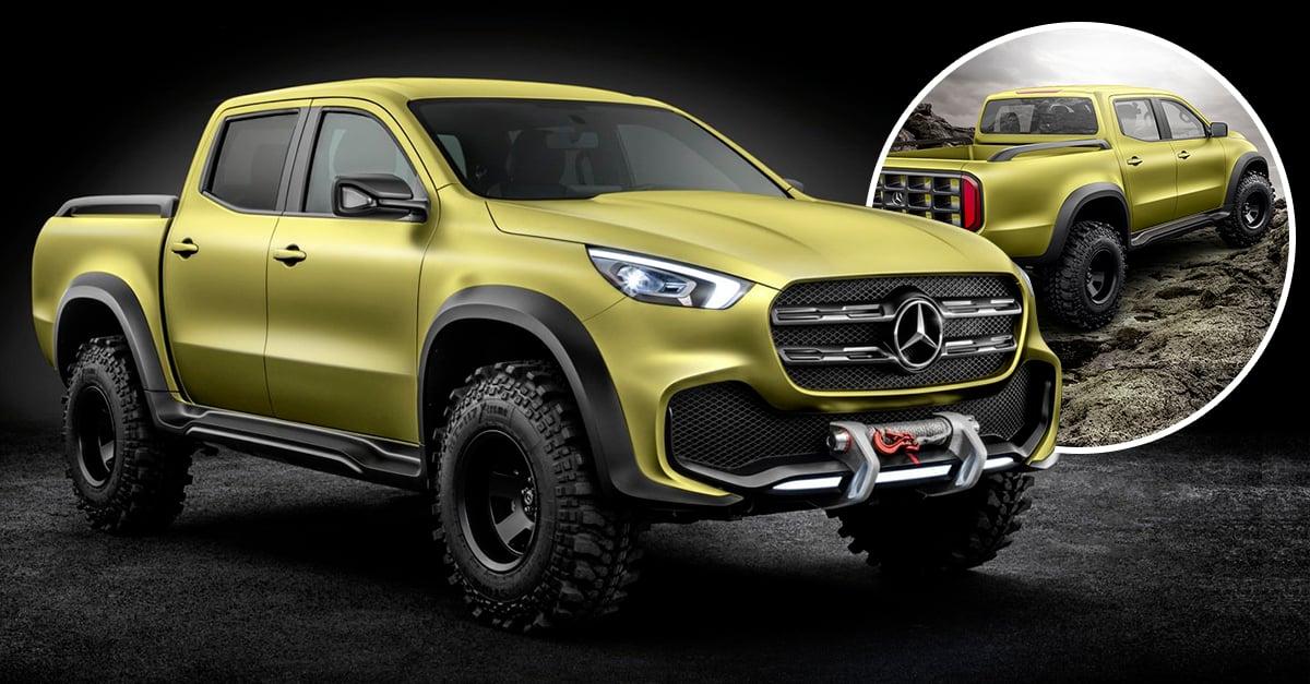 Mercedes benz x class la pick up premium para hombres for Mercedes benz in la