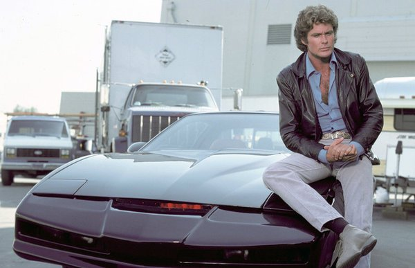 David hasselhoff el auto increible