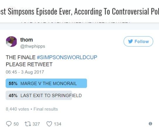 Marge contra el monoriel
