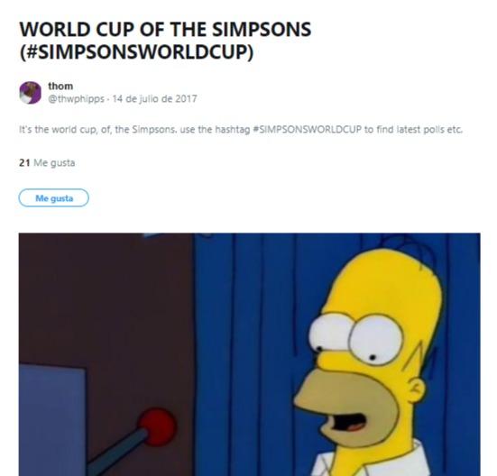 copa mundial los simpsons