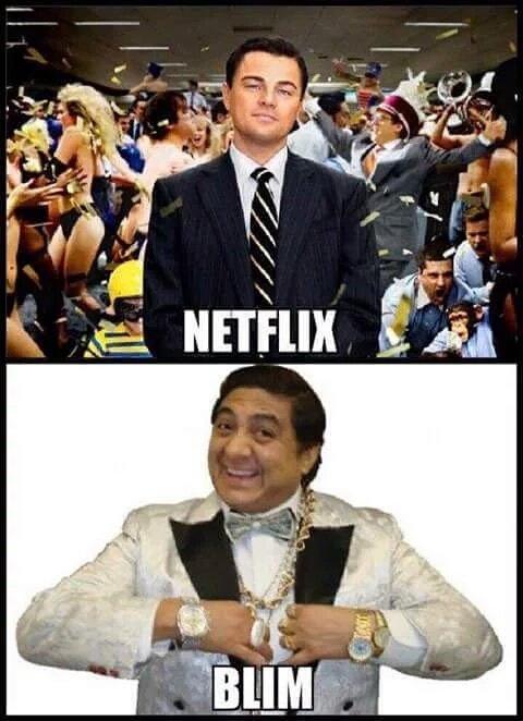 Netflix contra blim meme