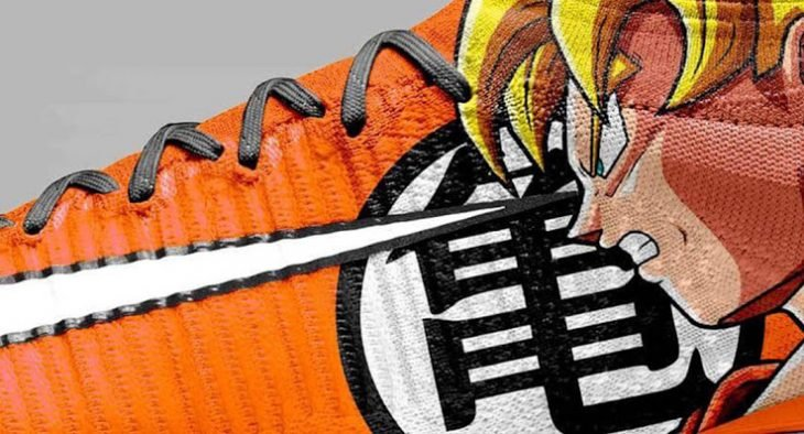 Increible Diseno De Nike Mercurial Con Dragon Ball