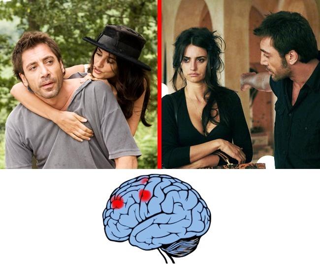 amar y odiar cerebro