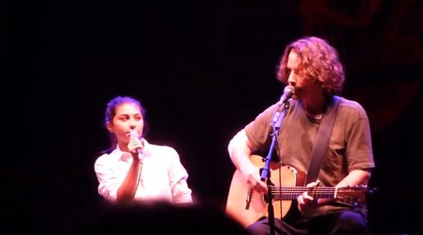 Chris Cornell y su hija