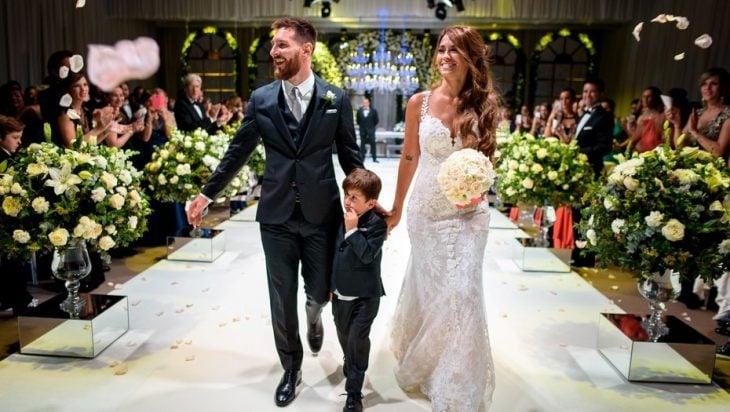 boda messi y antonela