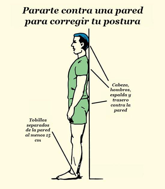 ejercicio de pared