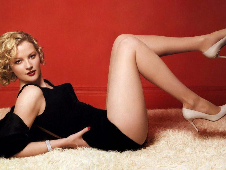 Gretchen Mol en la alfombra
