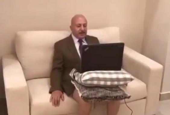 periodista sin pantalones