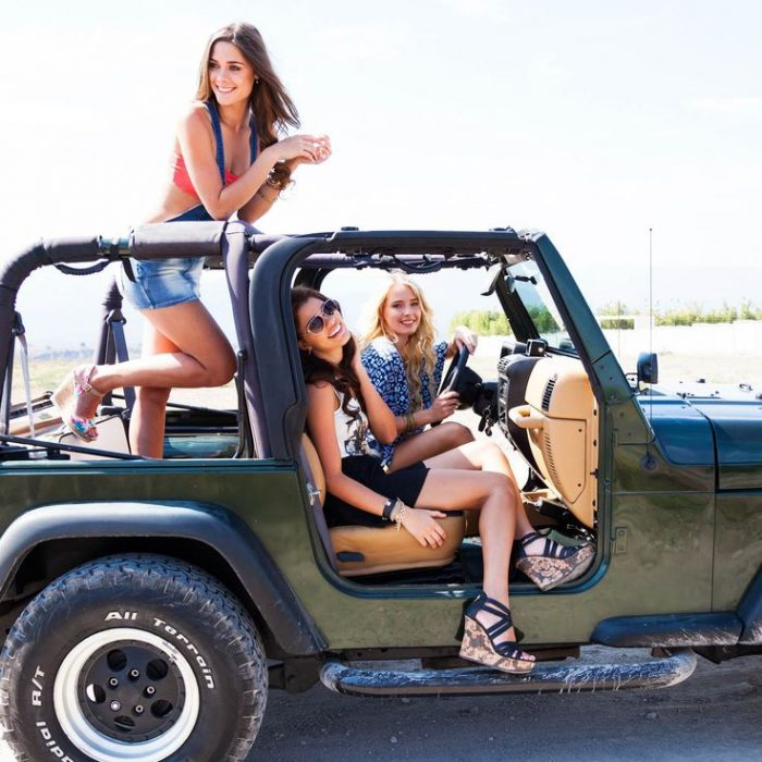 chicas jeep