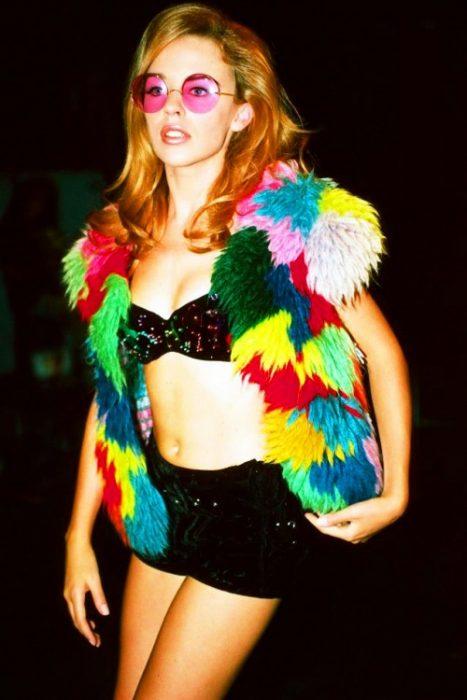 Kylie Minogue de colores