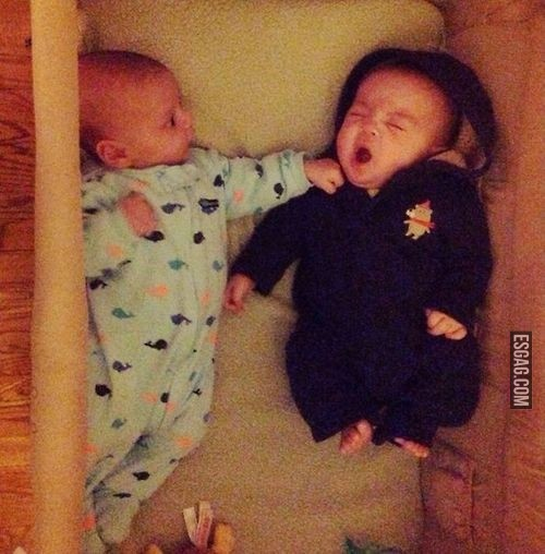 pelea hermanos