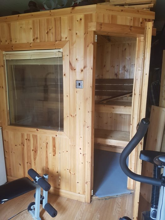 sauna alberca