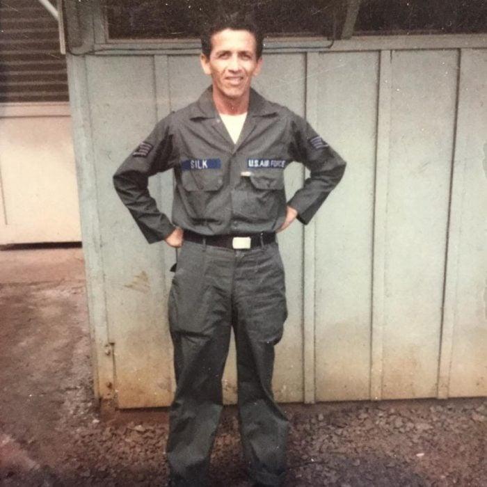Lawrence, piloto de la fuerza aérea