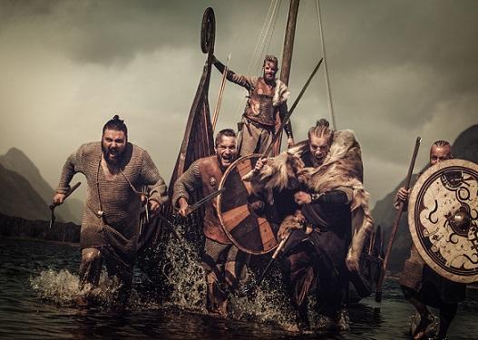 vikingos vida navegando