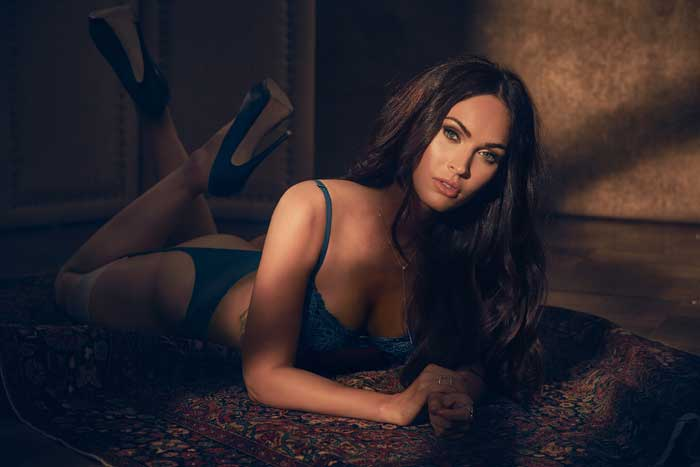 Megan Fox en lencería