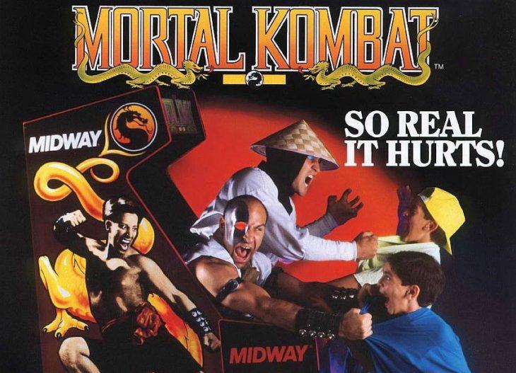 Publicidad de Mortal Kombat