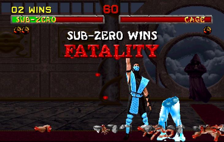 Mortal Kombat fatality sub zero
