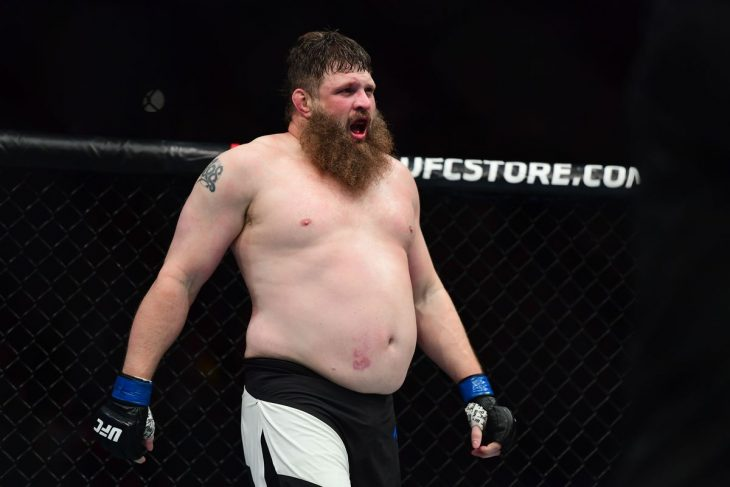 "Roy ""Big Country"" Nelson, peleador de MMA"