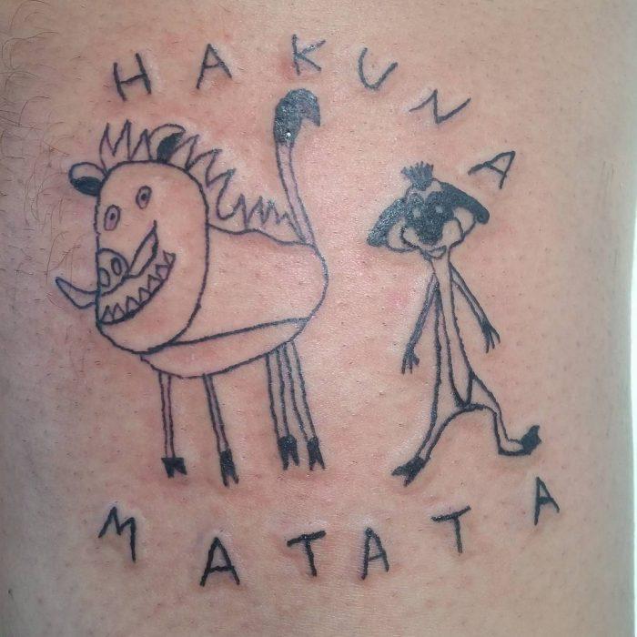 Tatuajes bizarros de Helena Fernandes