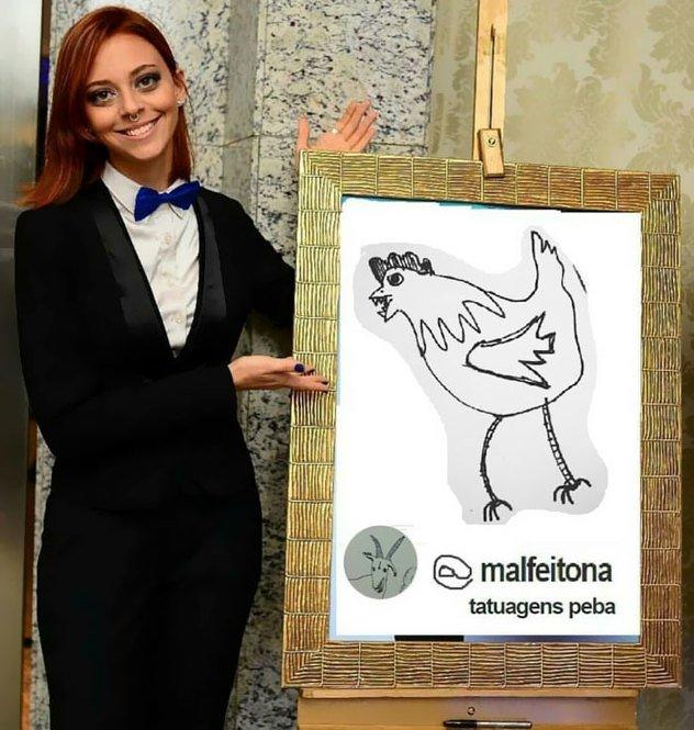 Helena Fernandes tatuadora