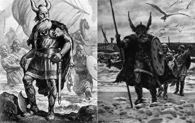 vikingos ropa