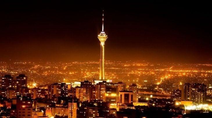 iran skyline
