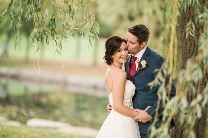 novia salva niño boda