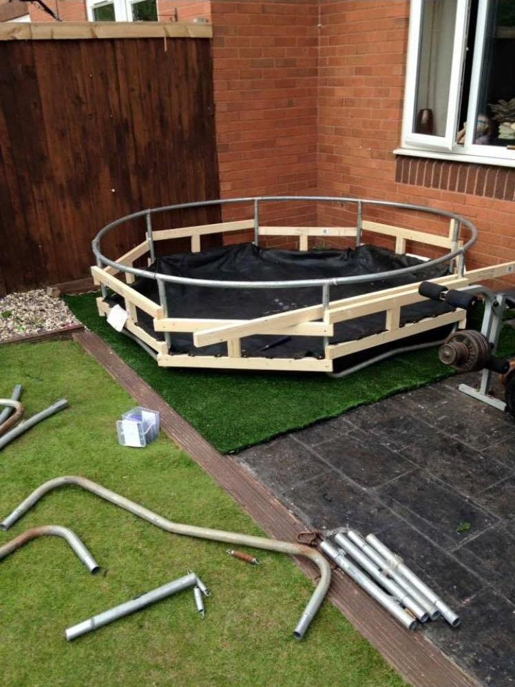 Transform una alberca de pl stico en jacuzzi casero for Calentador piscina casero