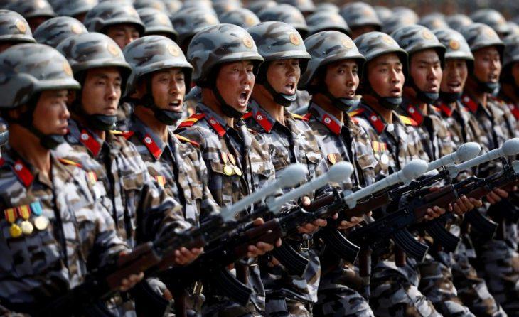 soldados corea
