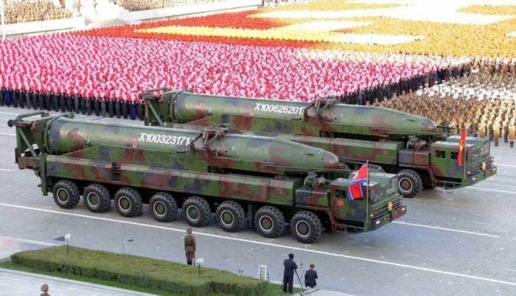 misiles corea