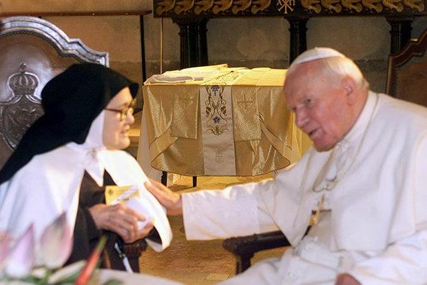 santa lucia y el papa
