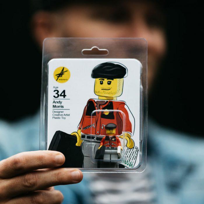 Currículum en figura de Lego