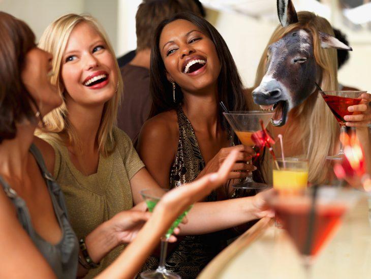 Batalla de Photoshop con burro