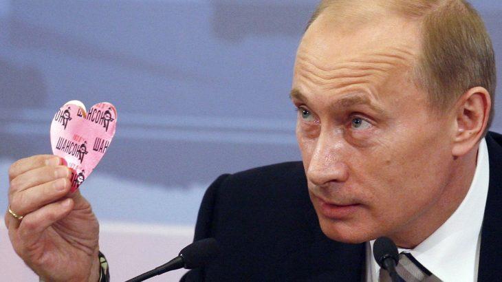 Putin y un corazón
