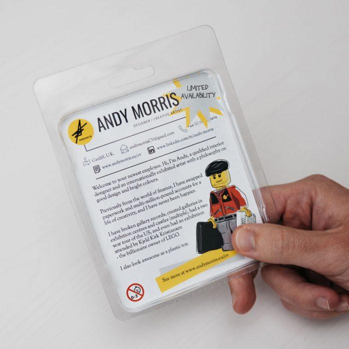Figura de Lego de diseñador