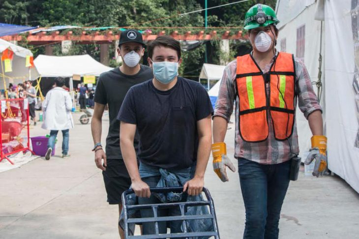 millennials ayuda sismo