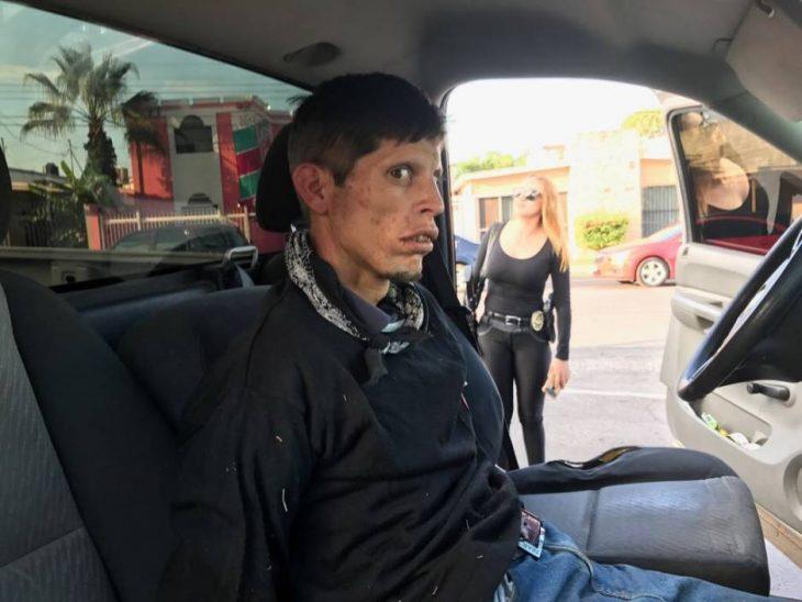 Ladrón que parece zombie
