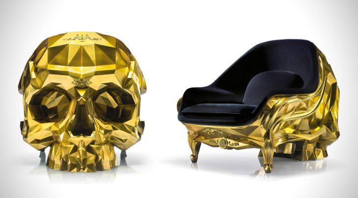 skull sofa