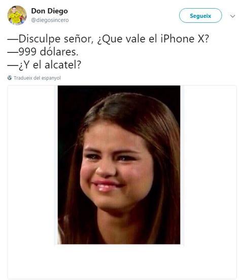 memes iphone x alcatel