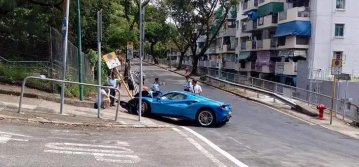 Man Crashes His Ferrari 488 Spider To Save A Stray Dog S Life1400 1505994388 1100x513 730x340