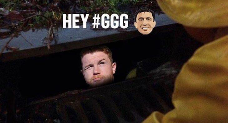 pelea canelo Golovkin meme